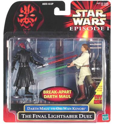 star wars episode  obi wan kenobi vs darth maul