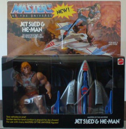 Sell Your Jet Sled & He-Man - Masters of the Universe - Wave
