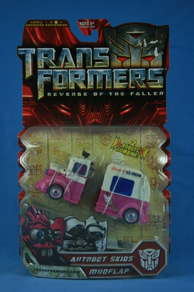 Autobot Skids and Mudflap (Ice Cream Truck) - Transformers