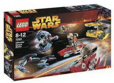 7283 Ultimate Space Battle Lego Sets Shelflife