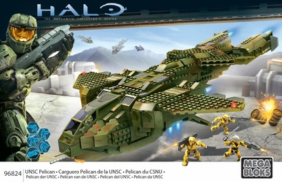 Unsc Pelican Dropship Instructions Mega Bloks Shelflife
